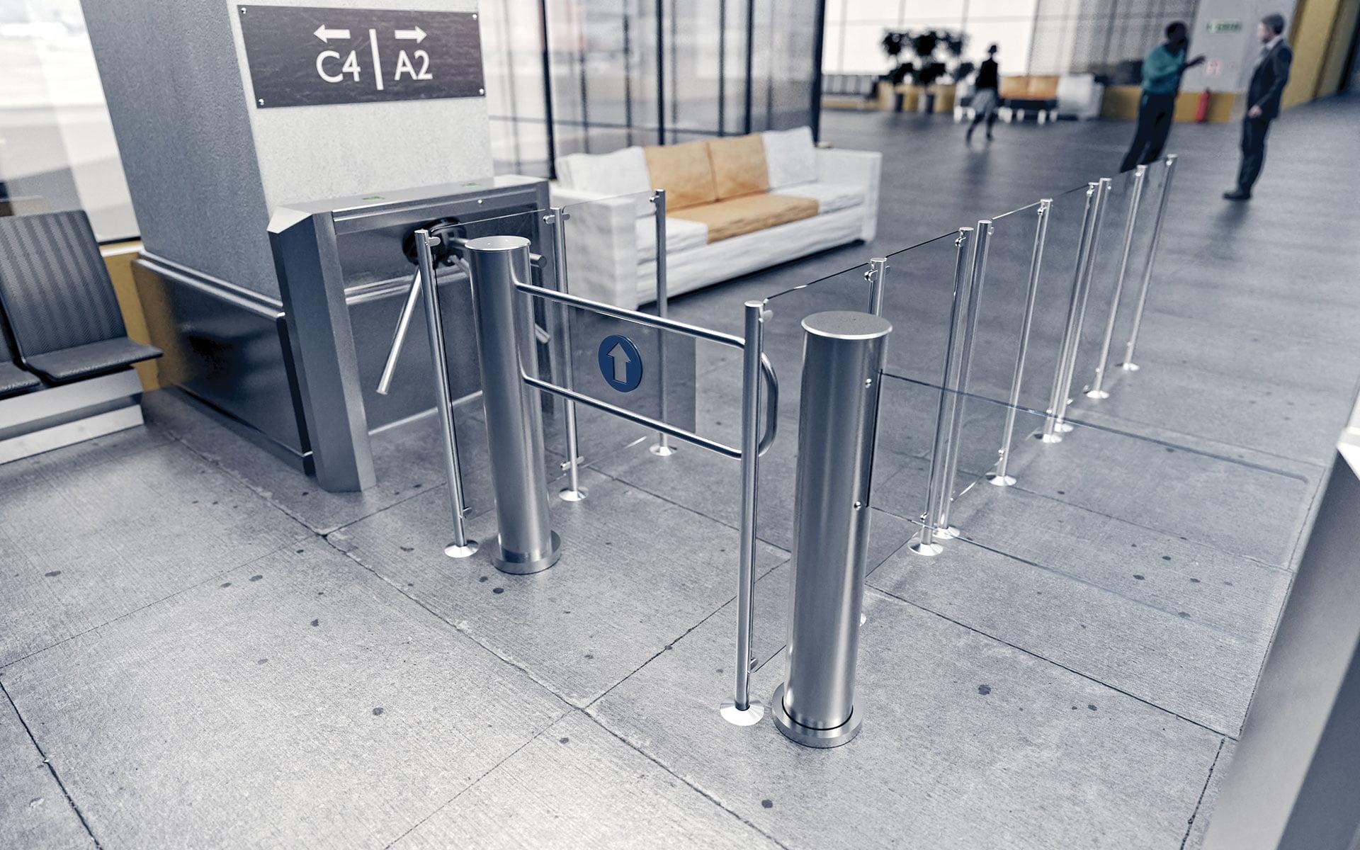 swing gates GR1-M gastop